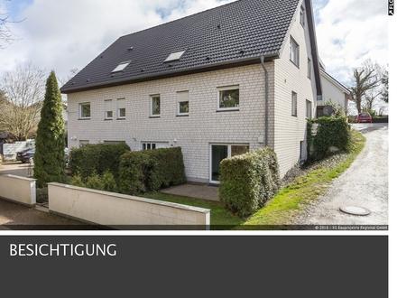 Helle, komplett modernisierte 2-Zi.-EG-Wohnung 43 m² mit Terrasse und Garten