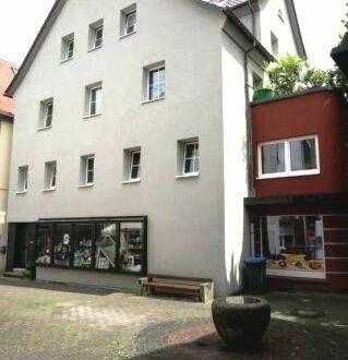 Fachwerkhaus mit Gewerbeanteil im Stadtzentrum mit 6 Stellplätzen und Dachterrasse