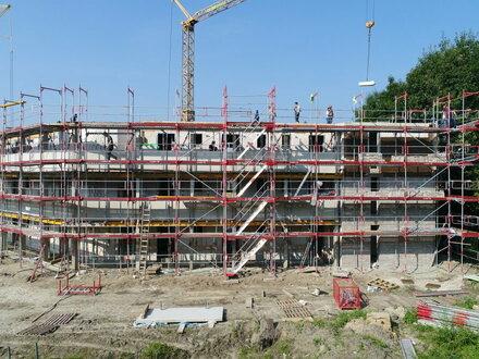 Bautenstand im August 2017