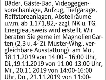Anzeigentitel NEUE MUSTERWOHNUNG eröffnet! Wohnen 2.0 in den DreiGärten-...