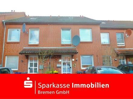 Kapitalanlage: Vermietetes, charmantes, Reihenmittelhaus in Bremen-Tenever