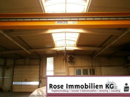 ROSE IMMOBILIEN KG: 6x Kräne Industrieobjekt mit Bürogebäude an der A30!