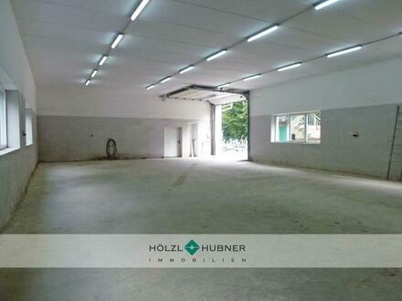 Geräumige Hallenfläche zuzüglich Lager und Büro
