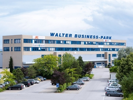 Hochmoderne Büroetage im WALTER BUSINESS-PARK, südlich von Wien - jetzt provisonsfrei mieten!