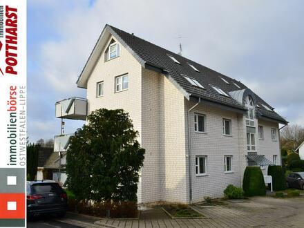 Schicke Maisonette-Wohnung in modernem Mehrfamilienhaus