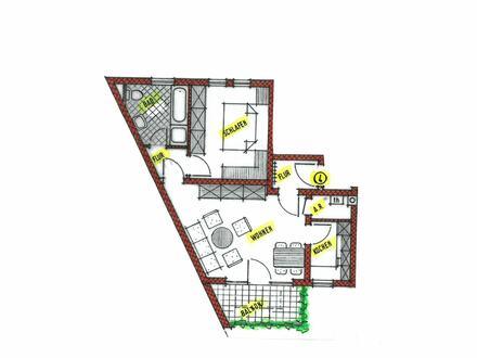 Gemütliche 2-Zimmer-Eigentumswohnung