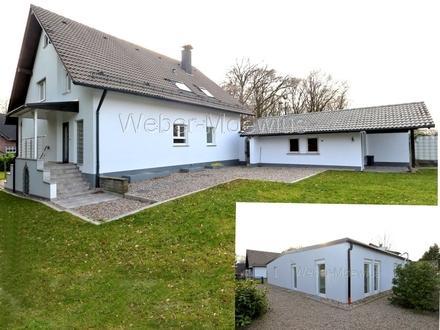 Vielseitig zu nutzendes Gebäude-Ensemble: 462 m² vermietbare Wohn-Nutzfläche auf 1.255 m² Grundstück