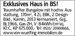 Exklusives Haus in BS!