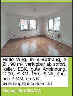 Helle Wg. in S-Botnang