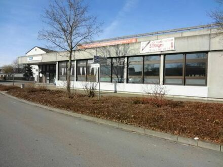 Produktionshalle, Lagerraum mit großen Rolltoren und Parkplätzen zentral in Giengen