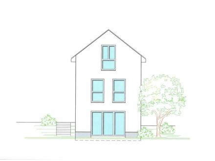 Projektiertes, freistehendes Einfamilienhaus in Bad Kreuznach-Nord