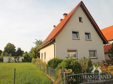 Solides Einfamilienhaus mit großem Garten!