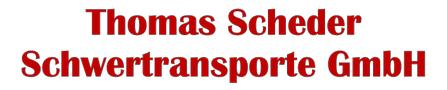 Thomas Scheder Schwertransporte GmbH
