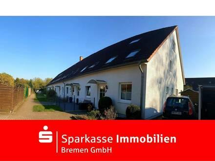 Familiengerechtes Reihenendhaus mit viel Licht über drei Etagen in Bremen-Mittelshuchting