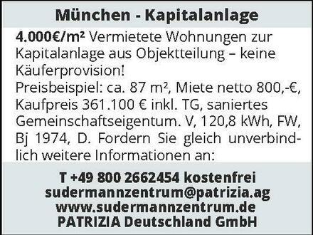 München - Kapitalanlage