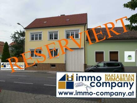 Einfamilienhaus im idyllischen Dorf Unterpullendorf