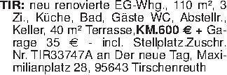 TIR: neu renovierte EG-Whg., 1...
