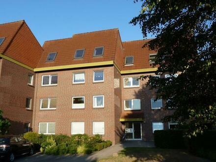 Schöne Eigentumswohnung in Brake mit Weserblick