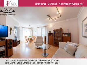 Traumhafte 2 Zimmer-Wohnung mit Blick auf Schloss Johannisberg