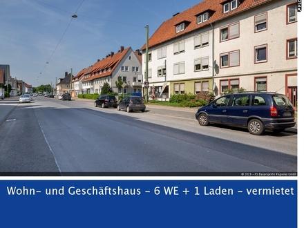 RESERVIERT Eine grundsolide Investition! Wohn- und Geschäftshaus in Bielefeld