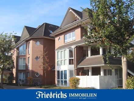 Vermietete 2-Zimmer-Erdgeschosswohnung in einem ruhig gelegenen Wohnpark in Oldenburg-Bümmerstede