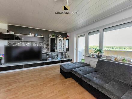 Top Zustand*Mega Aussicht*Barrierefrei Herrlich renovierte 3,5 Zi.-Wohnung mit EBK, Balkon + Garage