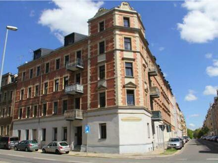 +++Für Investoren: 6,9 % Bruttorendite-Behagliche Einraumwohnung im Chemnitzer Schlossviertel!+++