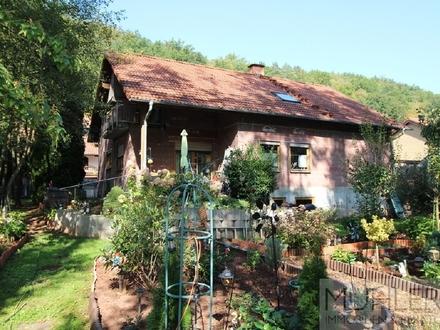 Idyllisch gelegenes 1-2-Familienhaus mit großem Grundstück