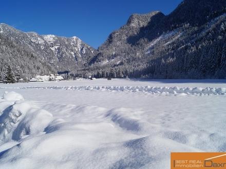Herrliches Grundstück im Zweitwohnsitzgebiet inmitten der Ferienregion DachsteinWest in Gosau!