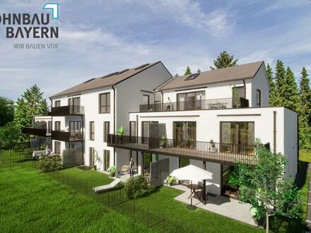 Erstbezug: Gewerbeeinheit im EG & UG mit Terrasse und Gartenanteil