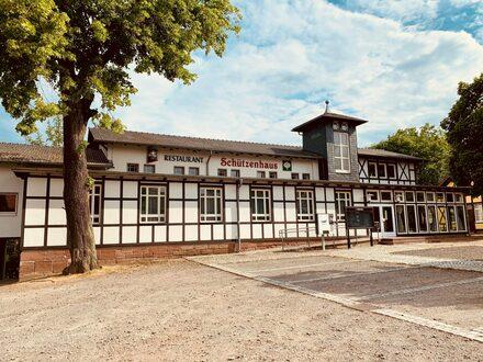 Schützenhaus in der Töpferstadt Bürgel