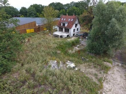 Zwei nebeneinander liegende Grundstücke - Wohnen und Arbeiten an der selben Adresse