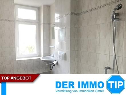Helle 2 Raum Wohnung mit Fenster im Bad und Fahrstuhl im Haus