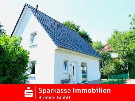 Top gepflegtes Einfamilienhaus in sehr ruhiger Seitenstraße von Bremen-Sebaldsbrück