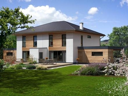 NEUBAU - schön geschnittene Doppelhaushälfte in guter Lage