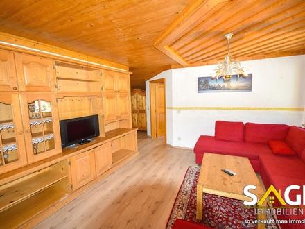 Heimelige Dachgeschosswohnung in bester Sonnenhanglage von Kaprun!
