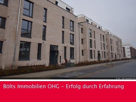 Mühlenviertel! Erdgeschosswohnung im Neubau-Erstbezug mit hochwert. Ausstattung und Sonnenterrasse