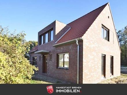Worpswede / Idyllisch gelegenes Neubau-Einfamilienhaus mit Sonnengarten