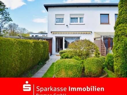 Gemütliches Reihenendhaus mit Garage in schöner Lage von Bremen-Neue Vahr Südost