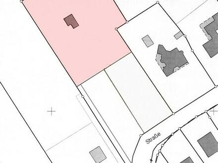 Freizeitgrundstück mit Blockhütte, Teichanlage und Doppelgarage in Westoverledingen, OT. Flachsmeer