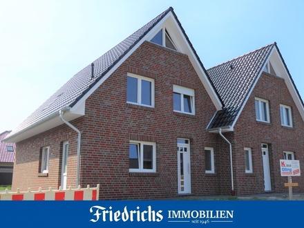 Zwei attraktive Neubau-Doppelhaushälften in Bad Zwischenahn-Ekern