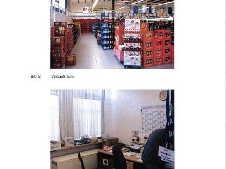 Getränkemarkt mit Sozialräumen und Lager
