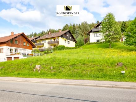 Provisionsfrei: Sonniger Bauplatz im Schwarzwald mit schönem Ausblick