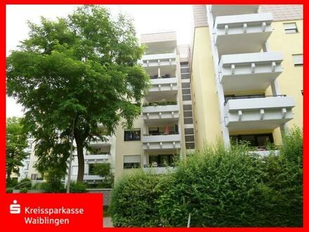 Kapitalanlage in Stuttgart-Möhringen - vermietete 2-Zimmer-Wohnung