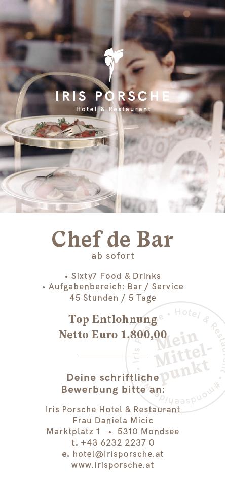Sixty7 Food & Drinks • Aufgabenbereich: Bar / Service