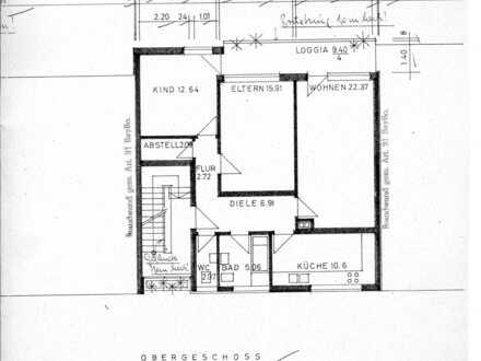 Helle, ruhige, gepflegte 3-Zimmer-Wohnung in Ingolstadt-Süd mit großem Süd Balkon - Ab sofort -
