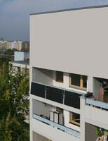 Strom vom Balkon