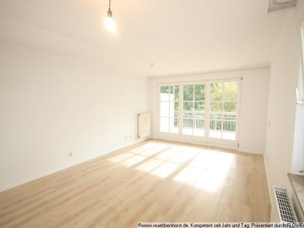 Renovierte 2-Zimmer-Wohnung mit 2 Balkonen in Bad Zwischenahn