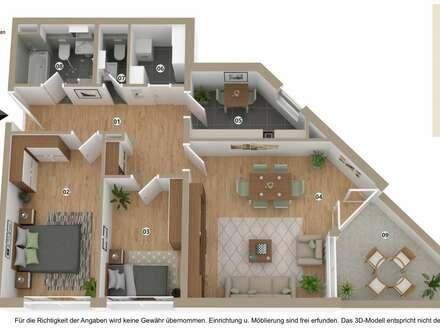 3 Zimmer Wohnung zum Wohlfühlen in zentraler Lage
