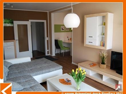 großzügig geschnittene 2-Raum-Wohnung mit Südbalkon, komplett saniert im grünen Bernsdorf!